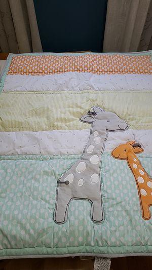 Crib baby bedding Giraffe for Sale in PILESGRV Township, NJ