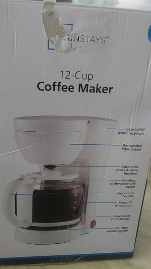 New black small coffee maker for Sale in Denver, CO