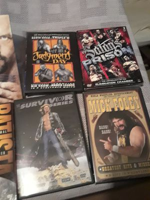 Wrestling dvds for Sale in Hamilton, MS
