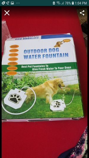 Outdoor dog water fountain for Sale in Hawthorne, CA