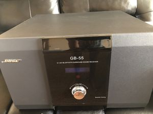 BOSE GB-55 SPEAKER SYSTEM 5 SPEAKERS + BLUETOOTH for Sale in Fresno, CA