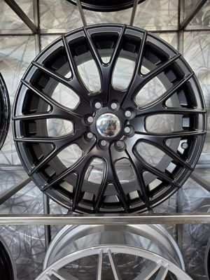 16x7 4x110 and 4x114 et20 stain black wheels fits Honda nissan Mazda VW rim wheel tire shop for Sale in Tempe, AZ