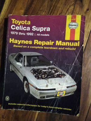Toyota Celica Supra manual for Sale in Olympia, WA