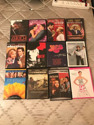 DVDs Excellent Like New condition 2 each 20 for all for Sale in Modesto, CA