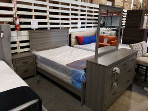 New 4pc bedroom set tax included free delivery for Sale in Hayward, CA