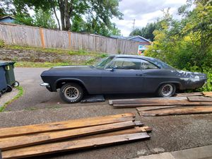 65 impala project runs needs interior and some body work for Sale in Puyallup, WA