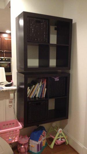 IKEA Kallax 4-unit Storage Shelf (x2) for Sale in Queens, NY