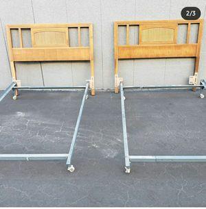 Free mid century twin headboards for Sale in Pico Rivera, CA