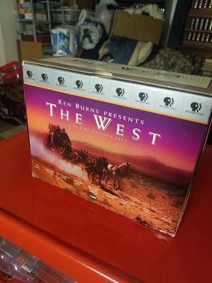 "KEN BURNS ""THE WEST"" VHS SET for Sale in Tacoma, WA"
