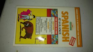 Spanish At-A-Glance book for Sale in Stockton, CA