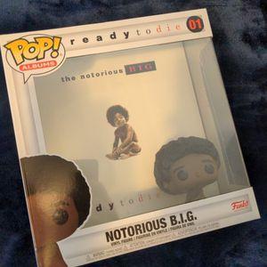 Exclusive Funko Pop Biggie Album Baby for Sale in East Northport, NY