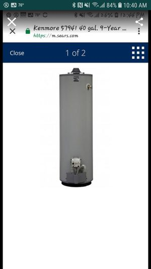 40 Gallon Natural Gas Water Heater for Sale in Kaneohe, HI