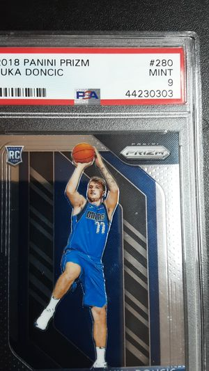 2018 panini prize LUKA DONCIC PSA9 for Sale in Westminster, CA