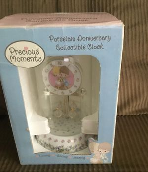 Precious Moments Porcelain Collectable Clock (Love One Another) for Sale in Anaheim, CA