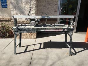 """Centaur Rail saw for tile, Stone 50"""" cutting 1800 watt for Sale in San Diego, CA"""