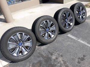 """20"""" FORD F150 RIMS AND TIRES A/T for Sale in Fontana, CA"""