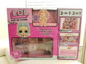LOL Surprise! 3 in 1 Pop-up Store, Carrying Case, with 1 Exclusive Doll for Sale in Rockville, MD