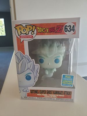 Funko Pop Dragonball Z Ghost Gotenks Shared Exclusive SDCC 2019 for Sale in Vacaville, CA