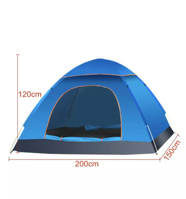 🔥Brand new! 2-3 Person Waterproof Camping Tent Automatic Shelter Outdoor Travel Hiking