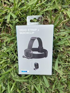 GoPro Head Strap & Quick Clip / $15 for Sale in Houston, TX