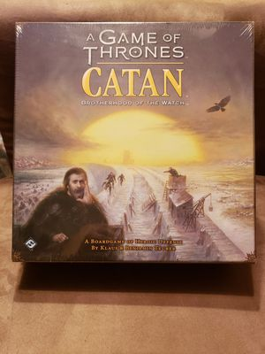 A Game Of Thrones Catan Brotherhood Of The Watch Boardgame for Sale in North Miami, FL