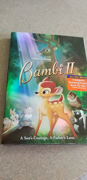 Bambi 2 dvd for Sale in Clayton, NC