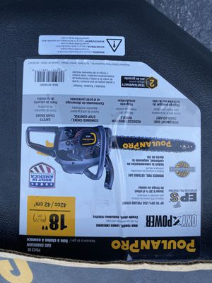 Poulan 18 chainsaw for Sale in Raleigh, NC