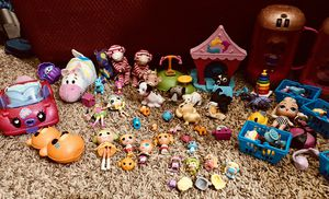 $35 assorted toys, LOL, Lala Loopsey, shopkins, little pet shop for Sale in Phoenix, AZ