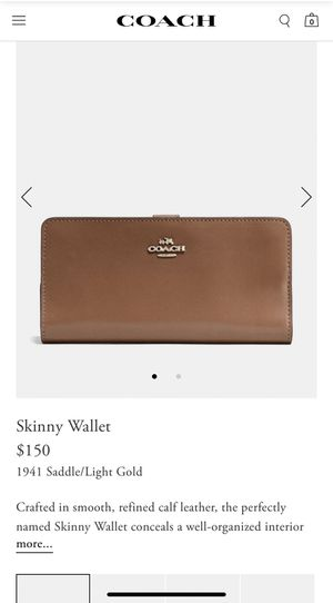 Coach wallet for Sale in Plant City, FL