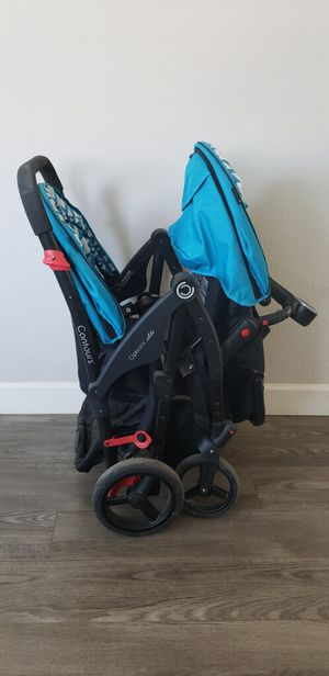 Double Stroller w/Car Seat for Sale in Morgan Hill, CA
