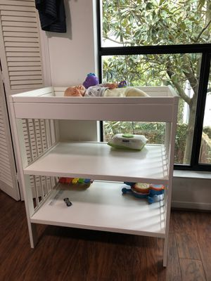White Changing table for Sale in Houston, TX