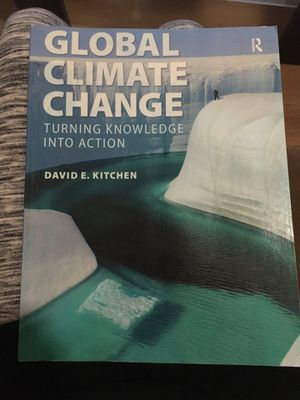 GLOBAL CLIMATE CHANGE TEXTBOOK for Sale in San Jose, CA