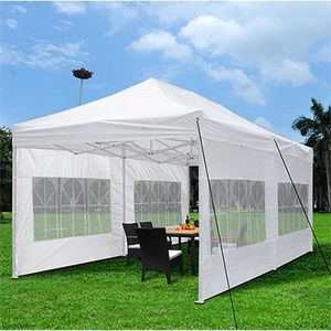 $210 New In Box Large Heavy-Duty 10x20ft Canopy Pop Up Tent With Side Walls Instant Shade Carry Bag Rope Stake for Sale in Los Angeles, CA