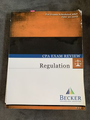 Becker Reg with flash cards - V1.2 for Sale in Costa Mesa, CA