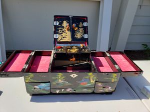 Antique jewelry box from China for Sale in Vancouver, WA