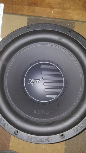 "12"" subwoofer Orion xtr for Sale in Rockville, MD"