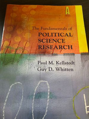 The Fundamentals of Political Science Research for Sale in Washington, DC