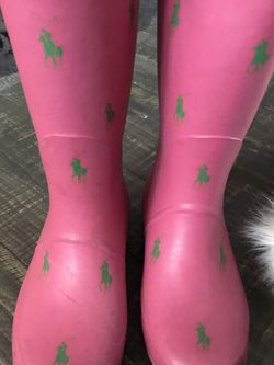 Rainboots Size 3 Use/ Polo /$5 for Sale in Compton,  CA