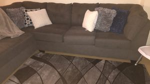 Grey sectional couch for Sale in Queens, NY