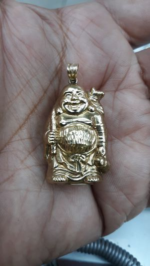 10k gold buda charm 8.4 grams for Sale in Los Angeles, CA