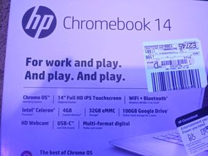 HP Chromebook 14 for Sale in Kendallville, IN