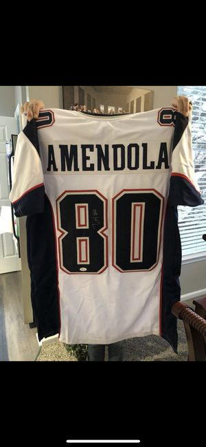 Danny Amendola Autographed white custom jersey XL JSA certified $200 for Sale in Montgomery Village, MD