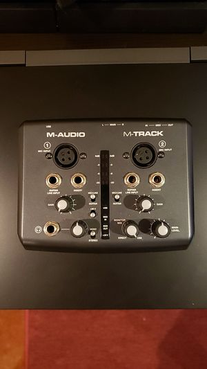 M-Audio M-Track USB Interface for Sale in Columbia, MO