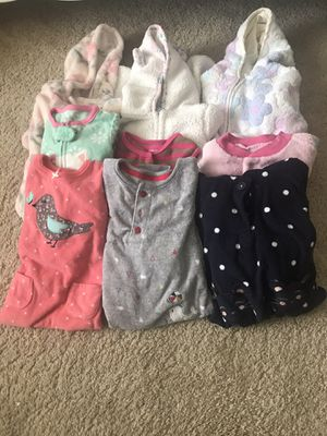 6-9 mos onesies pajamas for Sale in Morrisville, PA
