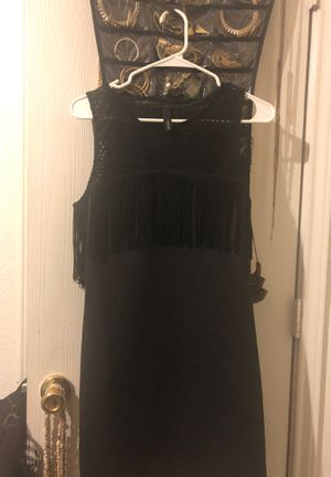 Black with fringe dress for Sale in Killeen, TX