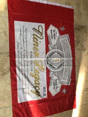 Niners 49ers Budweiser The Empire Banner for Sale in Clovis, CA