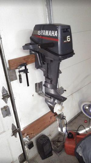 Yamaha 6HP 2 stroke short shaft outboard boat motor for Sale in Arlington, WA