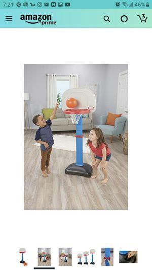 Little Tikes Easy Score Basketball Set, Blue, 3 Balls - for Sale in Las Vegas, NV