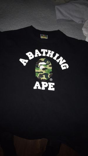 Bape college tee size medium for Sale in Del Valle, TX