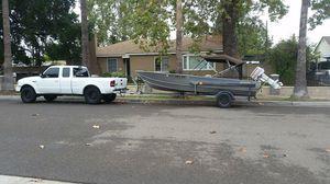 Gregor aluminum boat for Sale in Anaheim, CA